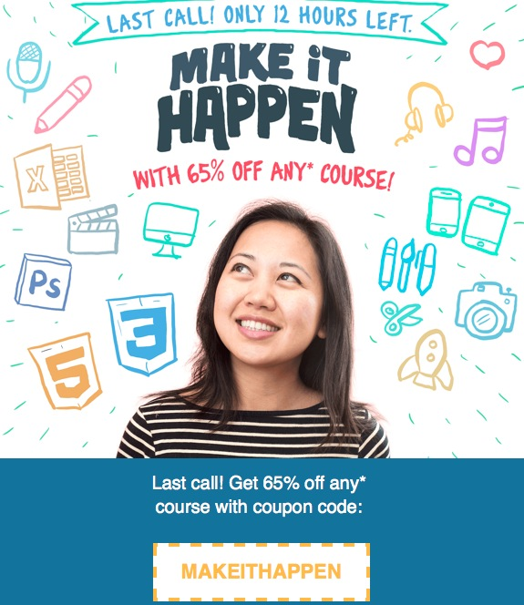 Udemy latest coupons