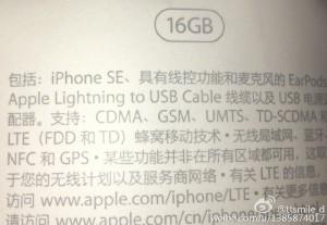 iphone se leaked