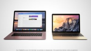 2016 macbook pro models design