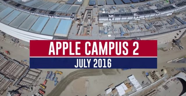 apple spaceship campus tour
