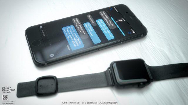 iphone 7 spaceblack apple watch