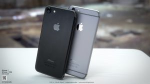iphone 7 space black design