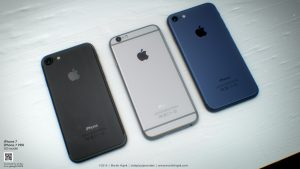 iphone 7 space black silver space blue