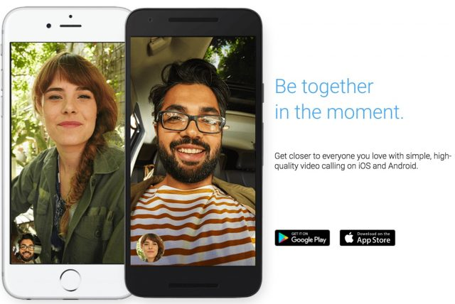 duo facetime like calling app for ios and