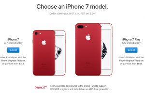 iphone 7 special edition product red