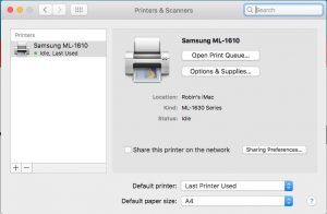 samsung ml 1610 driver mac os