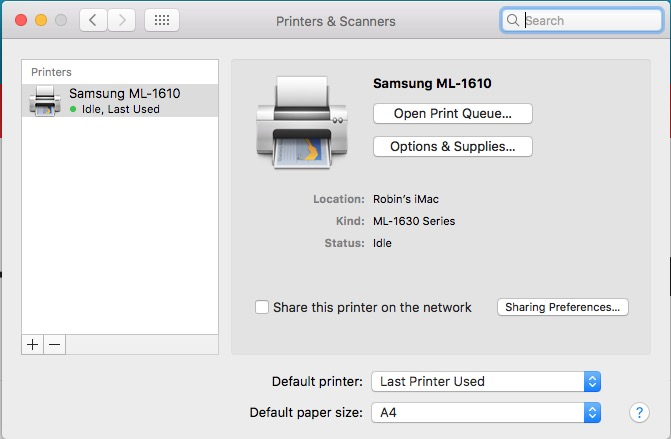 Download samsung ml-1610 drivers for windows 7/xp/8/vista.