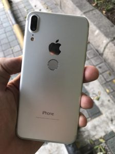 iphone 8 white color leaked rear