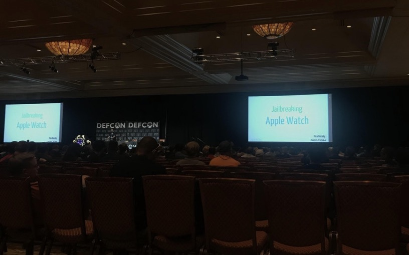 apple watch jailbreak demo