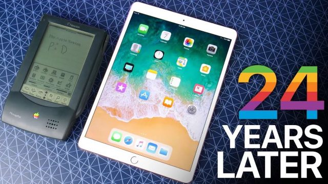 apple ipad pro vs apple newton tablet