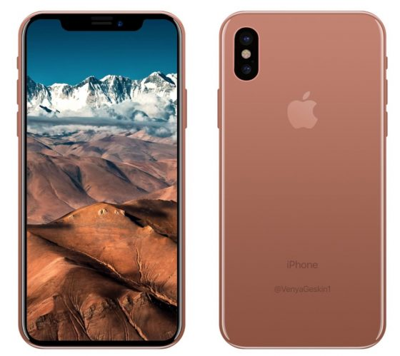 apple iphone 8 copper gold