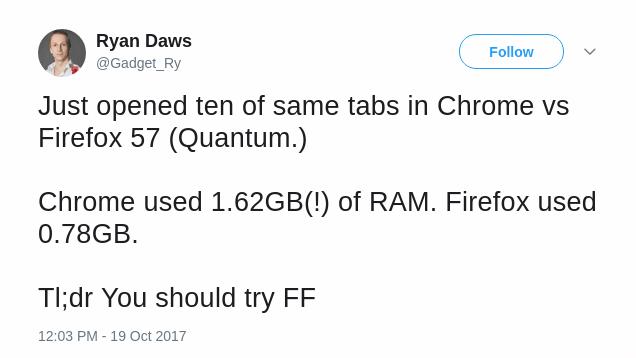 firefox quantum less memory