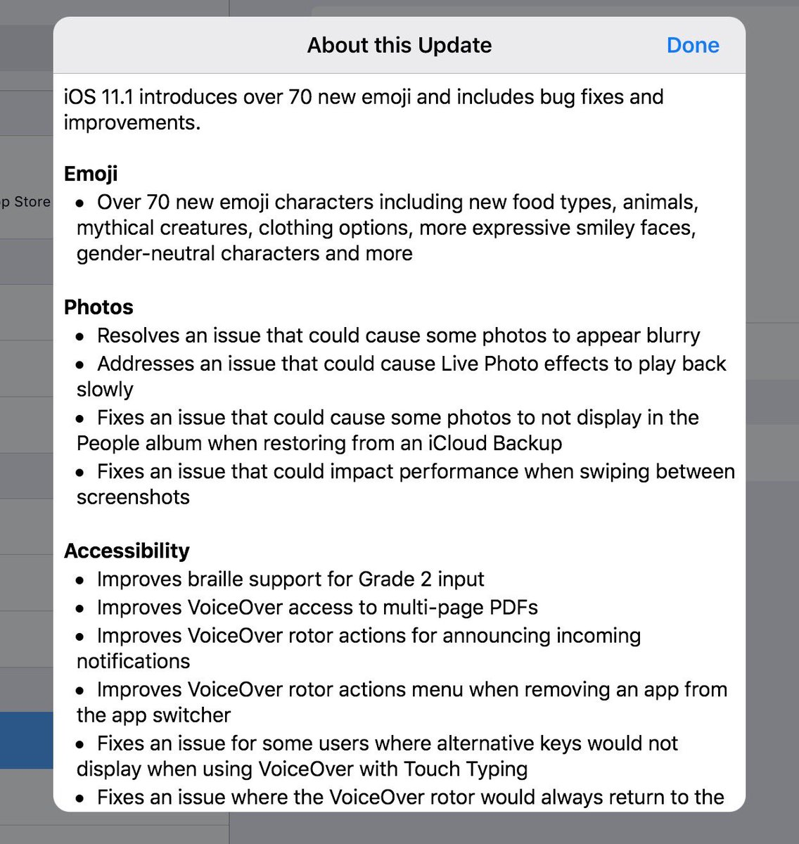 ios 11.1 released for iphone and ipad