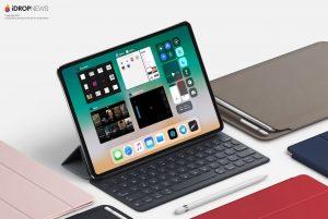 ipad pro 2018 model edge to edge display