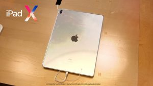 ipad x 2018 design backside