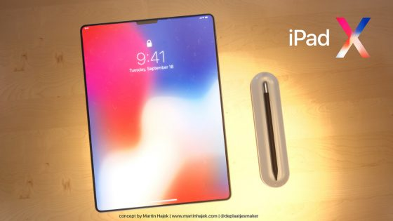 ipad x apple pencil 2018 design