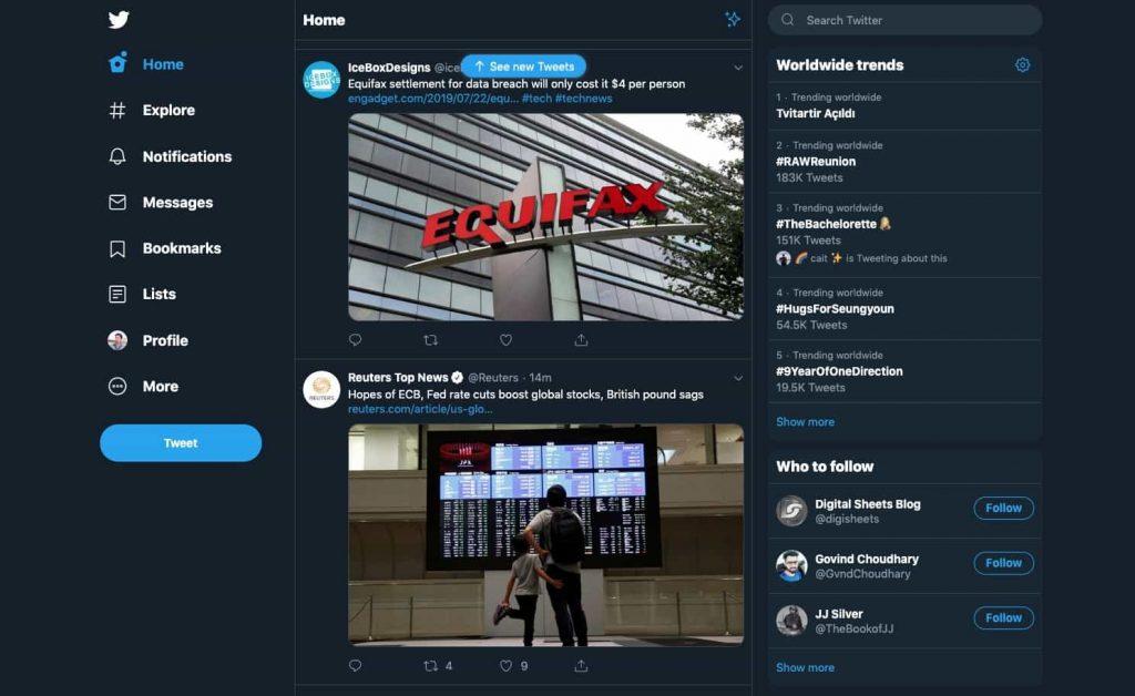 twitter design 2019 new