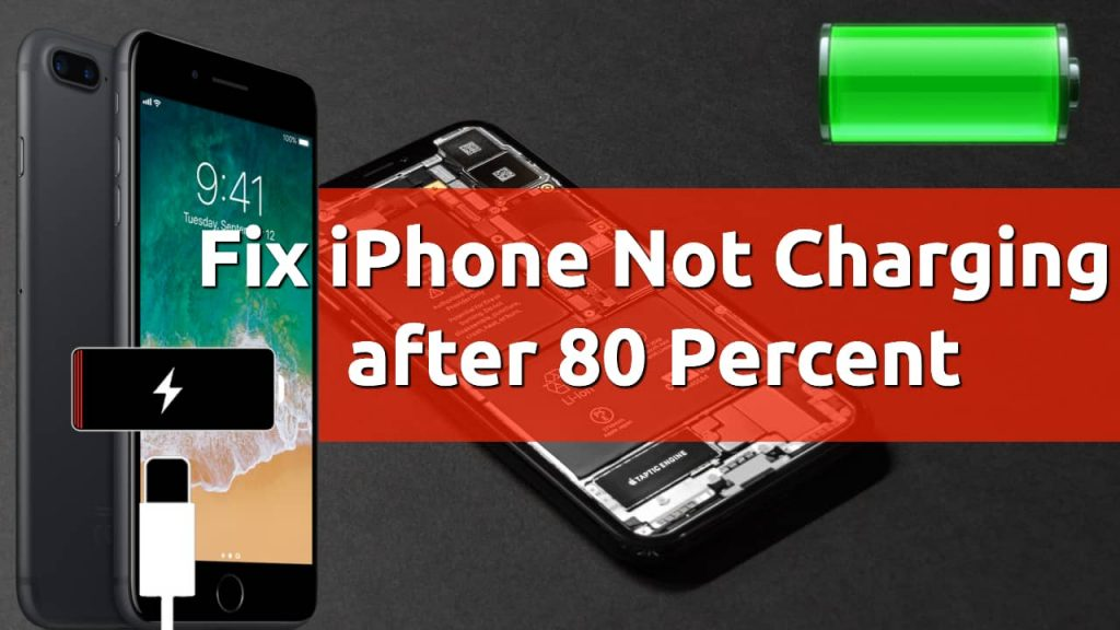 fix iphone not charging after 80 percent