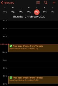 free your iphone threats notification fixclub