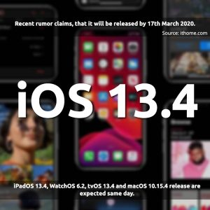 ios 13.4 release date