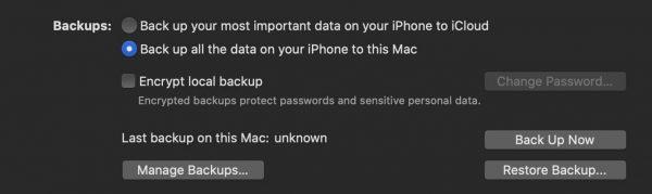 iphone ipad backup itunes