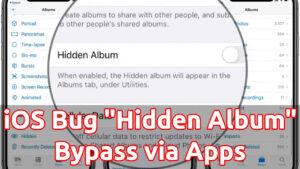 ios bug hidden album photos apps bypass