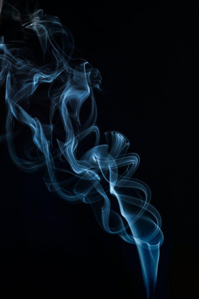 smoke black nord wallpaper