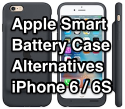 apple smart battery case alternatives