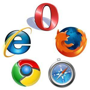 web browsers Performance Comparison Chart of Web Browsers