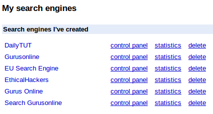 google cse controlpanel How to Add Google Custom Search in your Blog ?