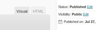 wordpress editor How to Add Google Custom Search in your Blog ?