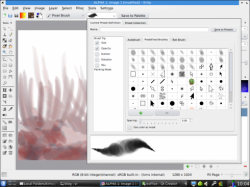 krita checkboxes options 490x367 250x187 5 Best Open Source Image Editing Softwares