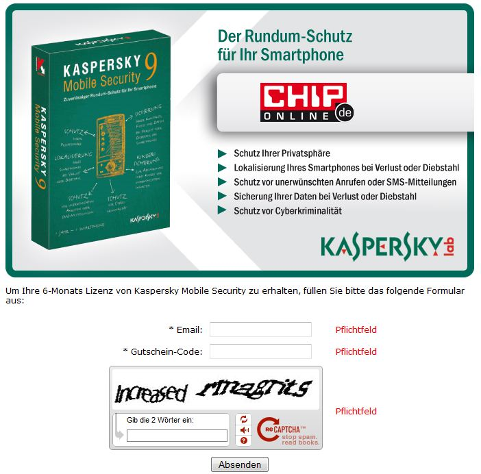 Kaspersky mobile security 9 free activation code