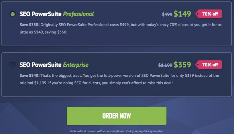 seopowersuite coupon codes christmas offers