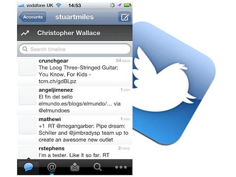 Twitter Quickbar