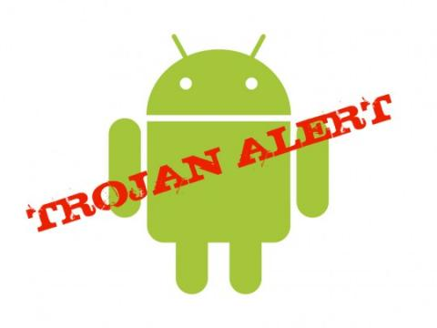 Trojan infections in Android