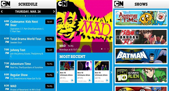 Adventure Time Cartoon Network Schedule Cartoon Network App Brings A
