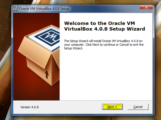 operating system is not configured to run this application