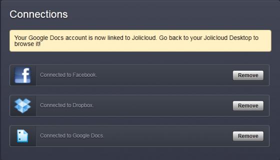 Jolicloud Desktop 4