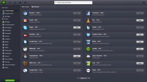 Jolicloud Desktop 1