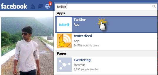 Twitter App for Facebook 1
