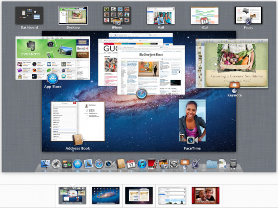mac os x lion screen