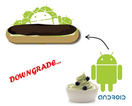 android downgrade