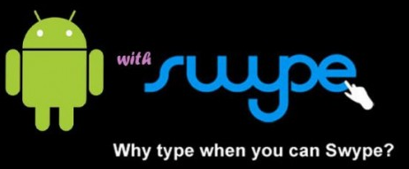 android swype