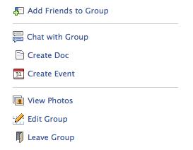 facebook edit group