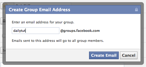 facebook groups username