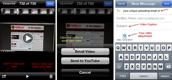 upload video to facebook 560x261 HOW TO: Upload iPhone Photos and Videos To Facebook