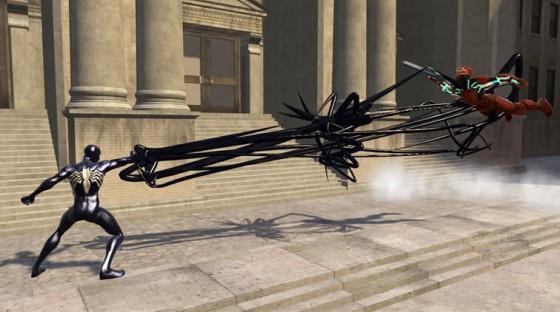 Spidey web of shadows