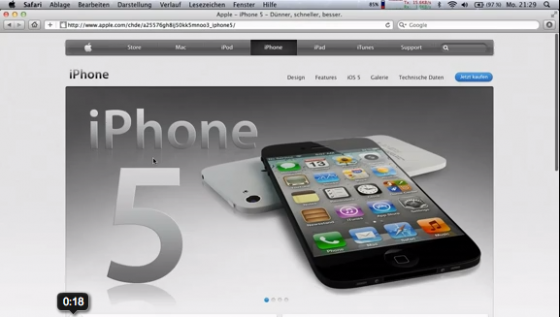 iphone 5 leaked