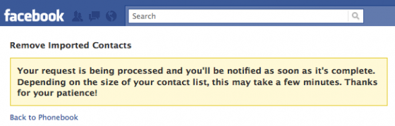 facebook contacts 3